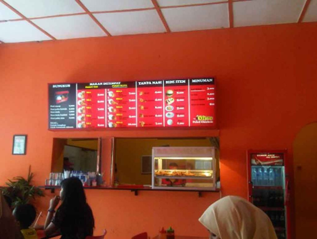 Foto Gerai Franchise Yogya Chicken